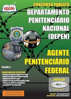 Departamento Penitenciário Nacional (DEPEN) -AGENTE PENITENCIÁRIO FEDERAL - VOLUME II