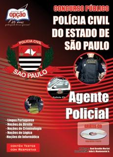 Polícia Civil do Estado de São Paulo-AGENTE POLICIAL