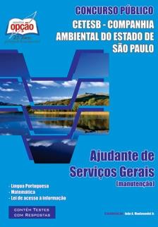 CETESB - Cia Ambiental Estado de São Paulo-AJUDANTE DE SERVIÇOS GERAIS