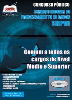 Serviço Federal de Processamento de Dados SERPRO-ANALISTA E TÉCNICO - CONHECIMENTOS BÁSICOS