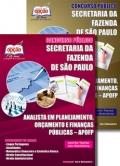 Secretaria da Fazenda de São Paulo (SEFAZ)-ANALISTA EM PLANEJAMENTO, ORÇAMENTO E FINANÇAS PÚBLICAS