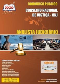 Conselho Nacional de Justiça - CNJ-ANALISTA JUDICIÁRIO