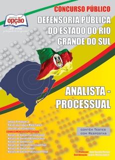 DPE - Rio Grande do Sul-ANALISTA - PROCESSUAL