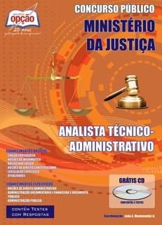 Ministério da Justiça-ANALISTA TÉCNICO (ADMINISTRATIVO)