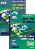 Ministério da Fazenda-ANALISTA TÉCNICO (ADMINISTRATIVO) - JOGO COMPLETO