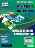 Ministério da Fazenda-ANALISTA TÉCNICO (ADMINISTRATIVO) - VOLUME I