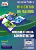 Ministério da Fazenda-ANALISTA TÉCNICO (ADMINISTRATIVO) - VOLUME II