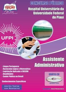 Hospital Universitário - UFPI-ASSISTENTE ADMINISTRATIVO