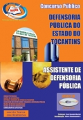 Defensoria Pública de Tocantins-ASSISTENTE DE DEFENSORIA PÚBLICA