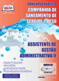 Companhia de Saneamento de Sergipe (DESO)-ASSISTENTE DE GESTÃO ADMINISTRATIVA II