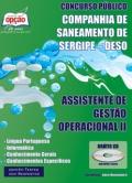 Companhia de Saneamento de Sergipe (DESO)-ASSISTENTE DE GESTÃO OPERACIONAL II