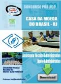 Casa da Moeda-ASSISTENTE TÉC ADMINISTRATIVO / APOIO ADM.