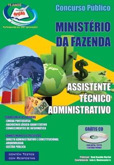 MINISTÉRIO DA FAZENDA-ASSISTENTE TÉCNICO ADMINISTRATIVO