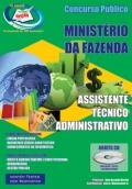 MINIST�RIO DA FAZENDA-ASSISTENTE T�CNICO ADMINISTRATIVO