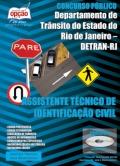 Detran / RJ-ASSISTENTE TÉCNICO DE IDENTIFICAÇÃO CIVIL