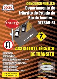 Detran / RJ-ASSISTENTE TÉCNICO DE TRÂNSITO