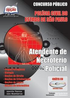 POLÍCIA CIVIL DO ESTADO DE SÃO PAULO-ATENDENTE DE NECROTÉRIO POLICIAL