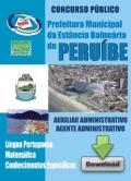 Prefeitura de Peruíbe/SP-AUXILIAR ADMINISTRATIVO / AGENTE ADMINISTRATIVO