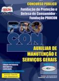 Procon / SP-AUXILIAR DE MANUTENÇÃO E SERVIÇOS GERAIS