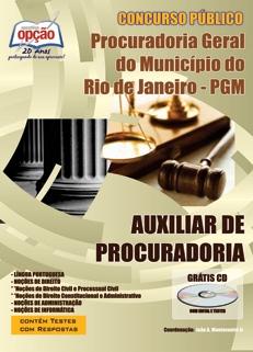 Procuradoria Geral do Rio de Janeiro / RJ-AUXILIAR DE PROCURADORIA