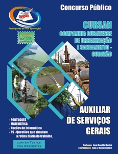 CURSAN-AUXILIAR DE SERVIÇOS GERAIS-AJUDANTE GERAL