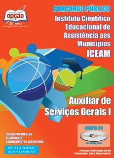 ICEAM-AUXILIAR DE SERVIÇOS GERAIS