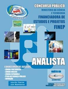 FINEP / SP-RJ-COMUM AOS CARGOS DE ANALISTA-APOIO ADMINISTRATIVO E SECRETARIADO
