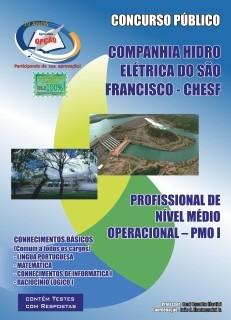 Companhia Hidro Elétrica do São Francisco (Chesf)-COMUM AOS CARGOS DE NÍVEL MÉDIO