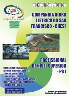 Companhia Hidro Elétrica do São Francisco (Chesf)-COMUM AOS CARGOS DE NÍVEL SUPERIOR-COMUM AOS CARGOS DE NÍVEL MÉDIO