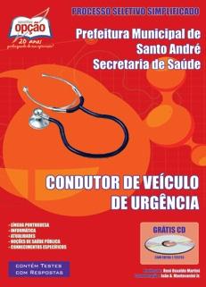 Secretaria de Saúde de Santo André-CONDUTOR DE VEÍCULO DE URGÊNCIA