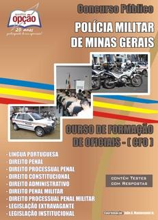 Polícia Militar - MG-CURSO DE FORMAÇÃO DE OFICIAL