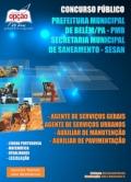 Belém/PA - SESAN-DIVERSOS CARGOS