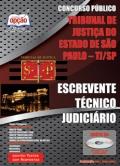 TJ-SP-ESCREVENTE TÉCNICO JUDICIÁRIO