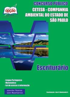 CETESB - Cia Ambiental Estado de São Paulo-ESCRITURÁRIO