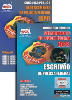 Polícia Federal / Escrivão-ESCRIVÃO DE POLÍCIA FEDERAL - COMPLETA