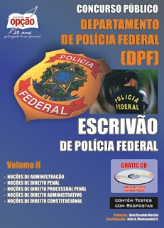 Polícia Federal/Escrivão-ESCRIVÃO DE POLÍCIA FEDERAL - VOLUME II-ESCRIVÃO DE POLÍCIA FEDERAL - VOLUME I-ESCRIVÃO DE POLÍCIA FEDERAL - COMPLETA