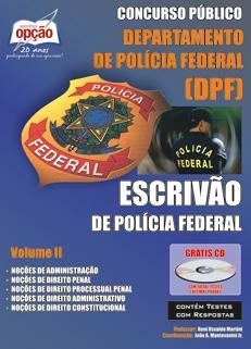 Polícia Federal / Escrivão-ESCRIVÃO DE POLÍCIA FEDERAL - VOLUME II
