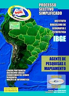 IBGE-IBGE - AGENTE DE PESQUISAS E MAPEAMENTO