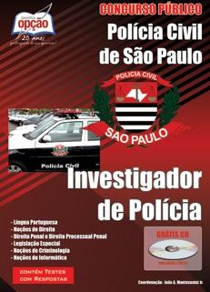 Polícia Civil-SP-INVESTIGADOR DE POLÍCIA