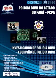 Polícia Civil do Estado do Pará-INVESTIGADOR DE POLÍCIA CIVIL / ESCRIVÃO DE POLÍCIA CIVIL