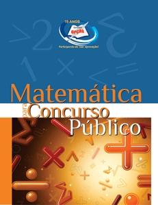 Matérias para Concursos Públicos-MATEMÁTICA