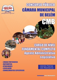 Câmara Municipal de Belém - PA-NIVEL FUNDAMENTAL COMPLETO