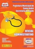 Fundação do ABC-Secretaria de Saúde de Santo André-OFICIAL ADMINISTRATIVO