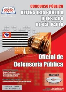 Defensoria Pública do Estado de São Paulo-OFICIAL DE DEFENSORIA-AGENTE DE DEFENSORIA - COMUM A TODOS OS CARGOS