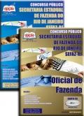 Secretaria de Estado da Fazenda do Rio de Janeiro (SEFAZ)-OFICIAL DE FAZENDA - JOGO COMPLETO