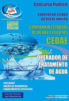 CEDAE / RJ-OPERADOR DE TRATAMENTO DE ÁGUA