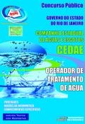 CEDAE-RJ-OPERADOR DE TRATAMENTO DE �GUA
