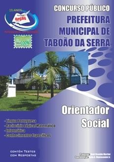 Taboão da Serra-ORIENTADOR SOCIAL-AUXILIAR DE CLASSE
