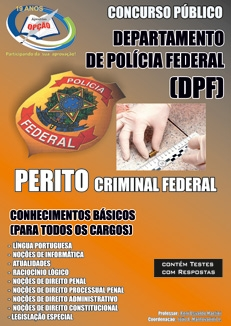 POLÍCIA FEDERAL / PERITO-POLÍCIA FEDERAL / PERITO