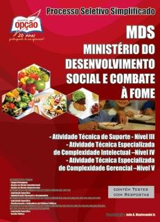 MDS - Min. do Desenvolvimento  Social-PROCESSO SELETIVO SIMPLIFICADO